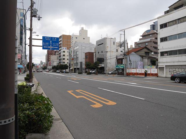 長堀通りから見たグランドメゾン天王寺真田山