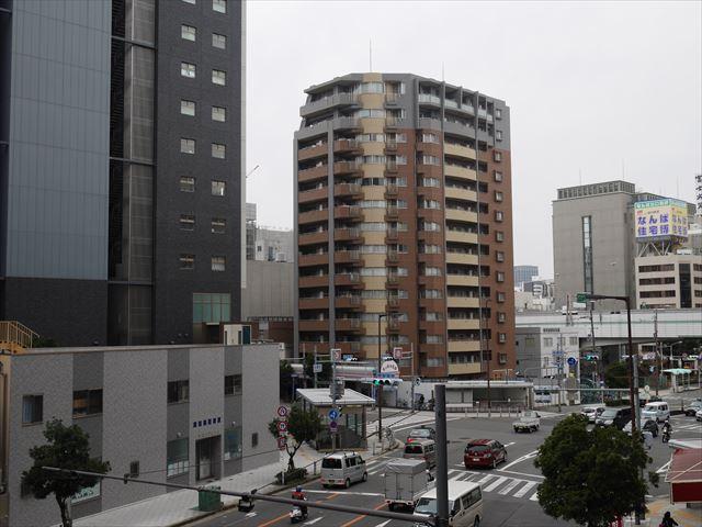 松屋町駅の歩道橋