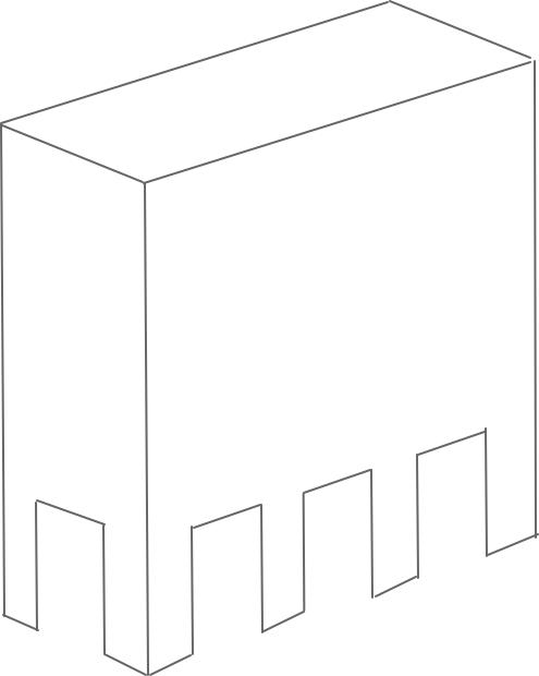ピロティ形式のマンションイメージ