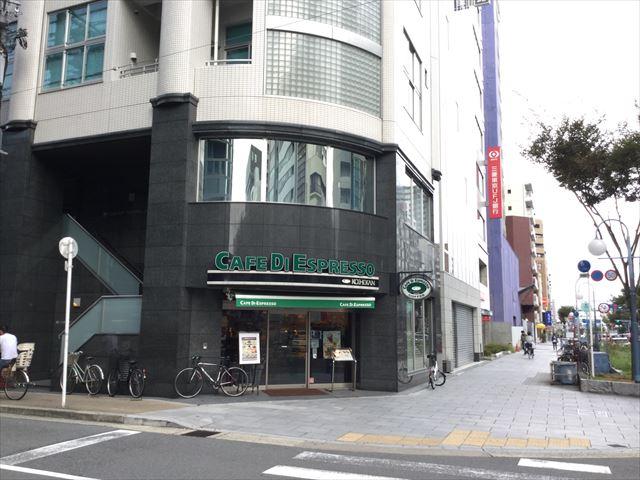 大阪天満宮駅1号出口を出た付近