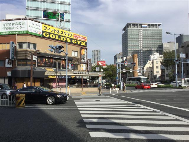 阪神本線「福島駅」2番出口