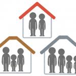 部屋と家族の人数