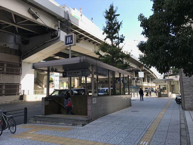 大阪メトロ「谷町四丁目駅」8番出口