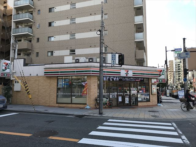 セブンイレブン大阪上町店