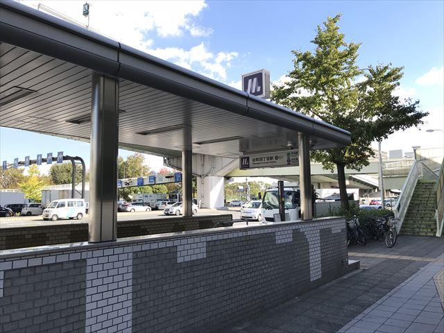 大阪メトロ「谷町四丁目駅」10番出口