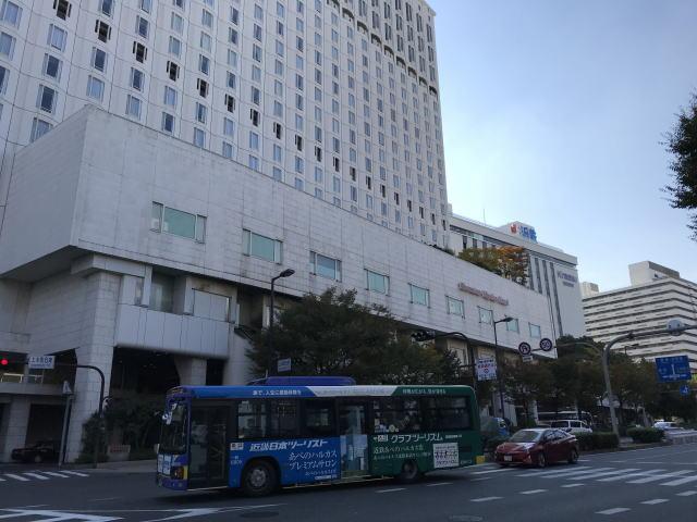 近鉄上本町駅とシェラトン都ホテル大阪