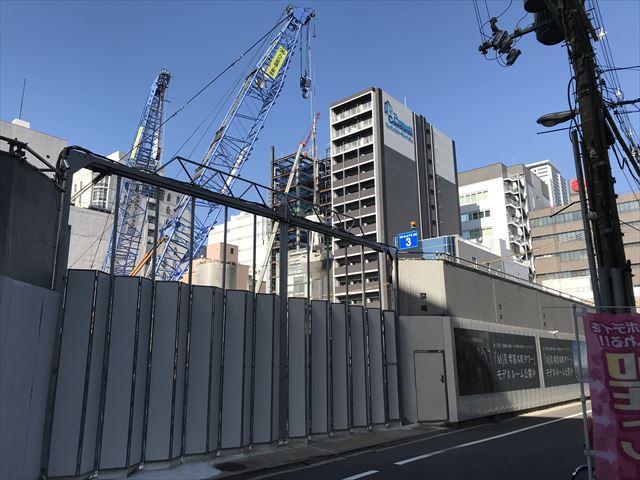 建設中の「MJR堺筋本町タワー」