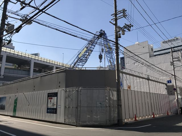 「MJR堺筋本町タワー」反対側から撮影