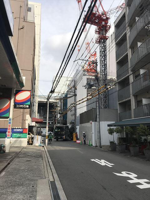「ブランズ大阪本町」とコスモ石油