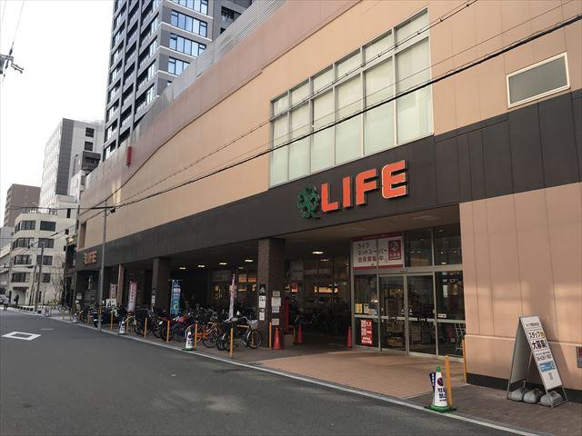 スーパーマーケット「ライフ堺筋本町店」