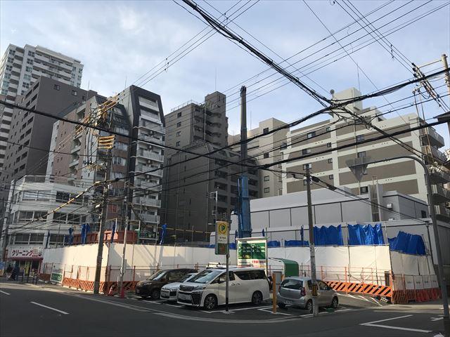 マンション「シーンズ大阪本町」北東