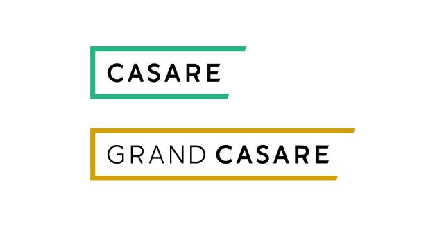 カサーレとグランカサーレのブランドロゴ
