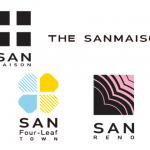 サンヨーホームズの4つのブランド(サンメゾン、サンフォーリーフタウン、ザ・サンメゾンサンレノ)