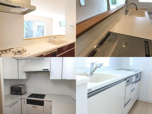 キッチンとリビングダイニングのレイアウト4種類(対面式・独立型・アイランド・壁付き)