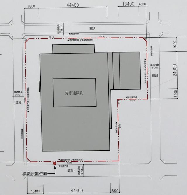 マンション「シティタワー大阪本町」配置図