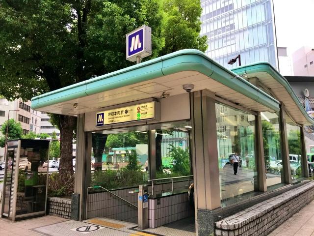 堺筋本町駅17番出口