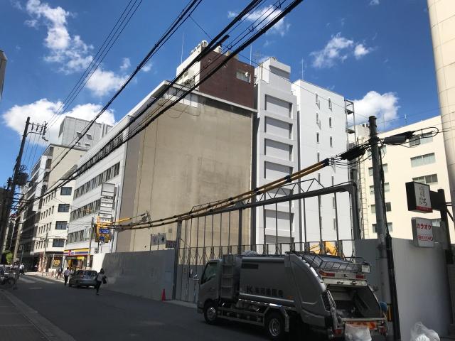 「クレヴィアタワー御堂筋本町」建設地