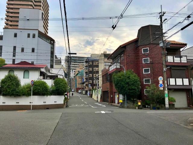 大阪市立天王寺保育所の坂道