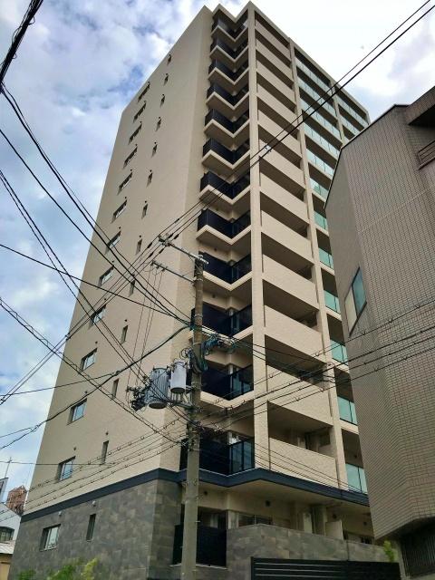 マンション「ジェイグラン天王寺堂ヶ芝」上層階の様子