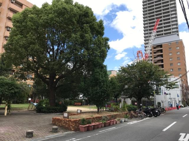 上七公園と「近鉄『大阪上本町』マンションプロジェクト」