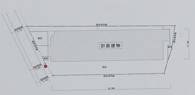 「レ・ジェイド森ノ宮」配置図