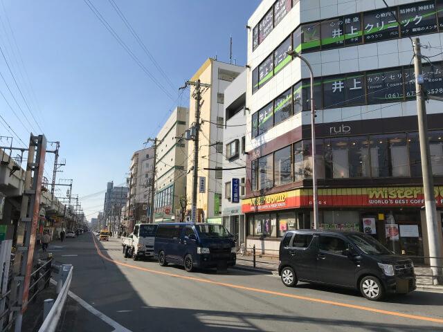 JR環状線「桃谷駅前」ミスタードーナツ