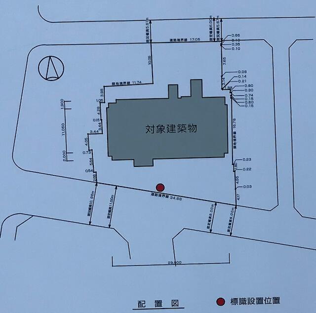 「ブランズ天王寺勝山」配置図