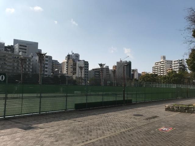 靭公園テニスコート