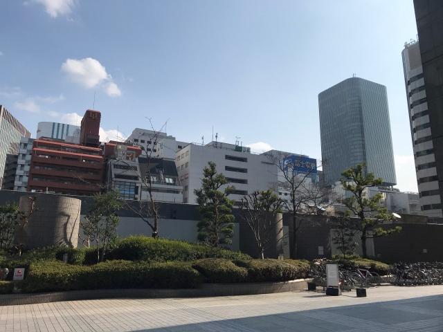 新藤田ビルから見た「(仮称)堂島2丁目計画」
