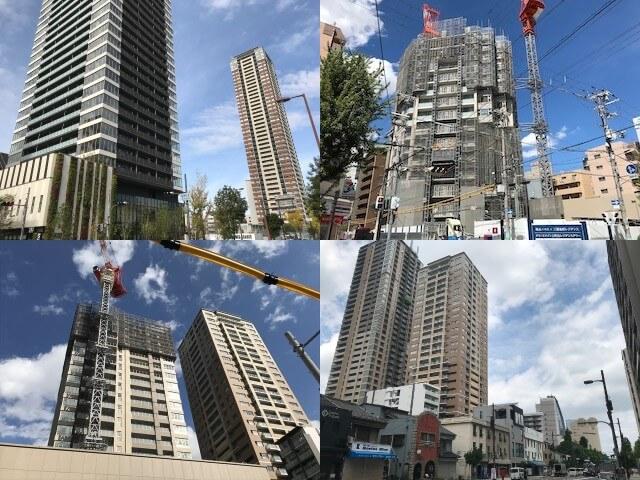 大阪に建設しているグランドメゾンの分譲マンション