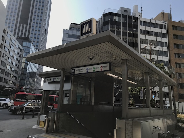 大阪メトロ「本町駅」28番出口