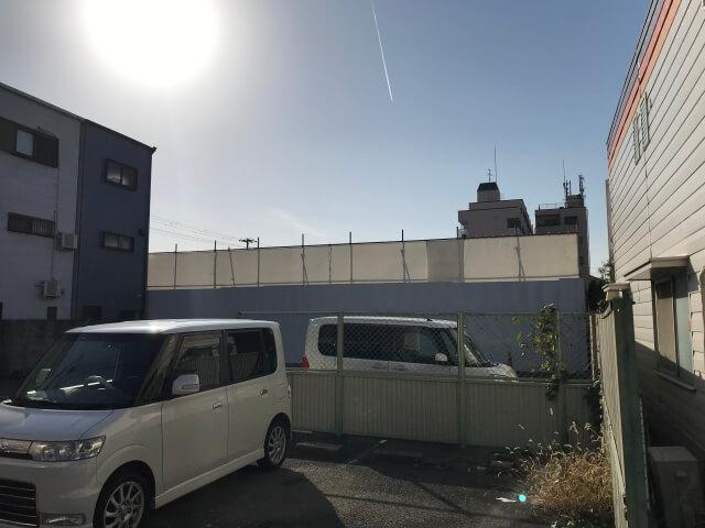 「ディモア城東シティ」と住宅街
