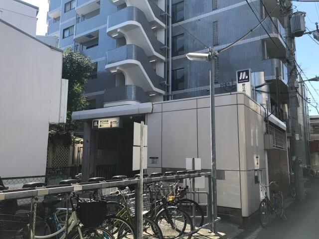大阪メトロ谷町線「野江内代駅」2番出口