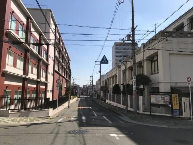 大阪市立夕陽丘中学校と上宮学園中学校・高等学校