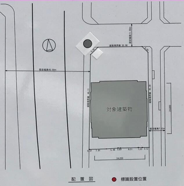「シエリアタワー大阪天満橋」配置図