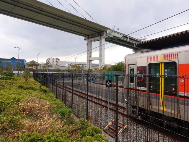 JRゆめ咲線「桜島駅」