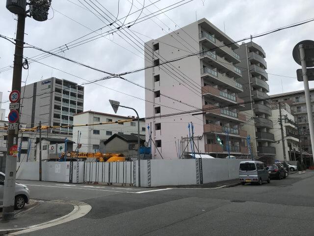 プレミスト「(仮称)東成区中道3丁目マンション新築工事」
