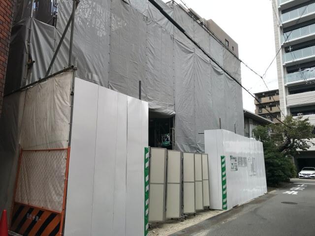 「レジェイド天王寺勝山」東側